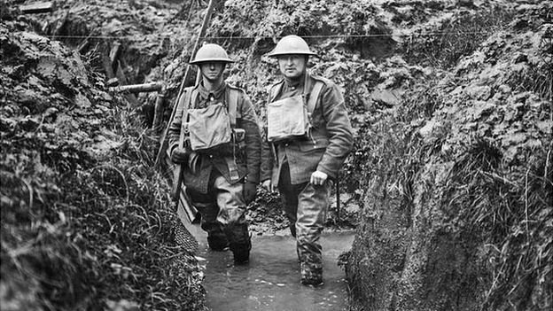 72309045_10679314_mary_evans_flooded_trench